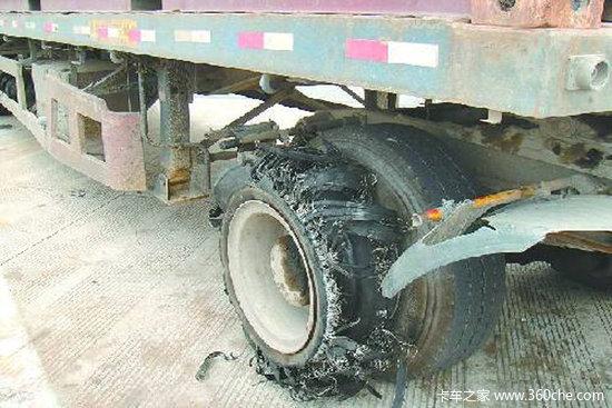 高效预防爆胎卡车轮胎上的三种安全设备了解一下