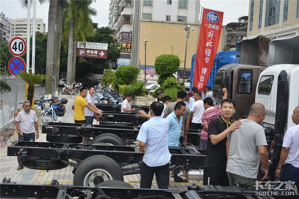 2019一汽解放轻卡产品推介会茂名站隆重举办