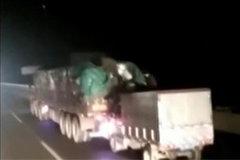 高速公路盗贼 百起盗窃大货车案件告破