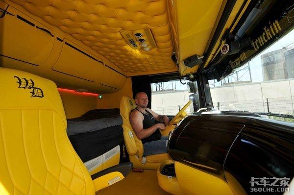 欧洲卡车改装太疯狂,连渣土车都不放过