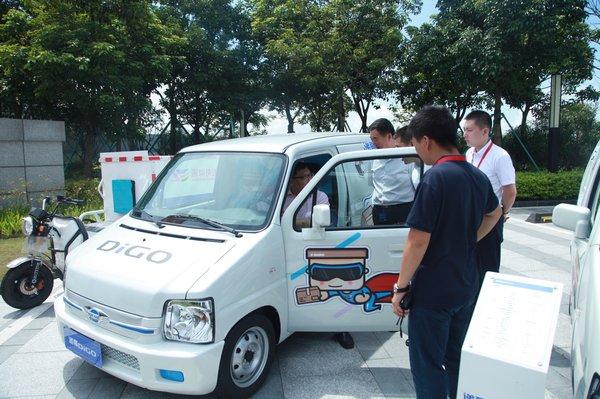 福田为快递小哥打造新能源微型车