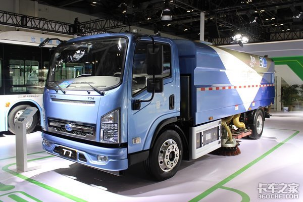 一步到位零排放!比亚迪纯电动卡车破除排放升级紧箍咒