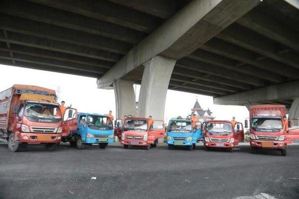 7月1日起,浙A黄牌普通货车,手机就可办理市区通行证