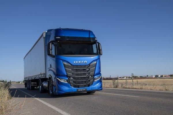 一身高科技驾驶更人性化新款依维柯S-WAY正式发布