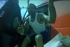 美卡车司机拒执法刺伤警官 遭枪击身亡