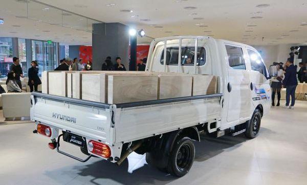 欧盟近期要求电动车加装仿引擎噪声设备,现代Porter货车近期发布