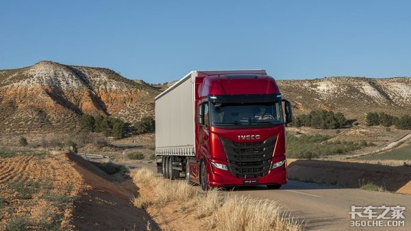 新旗舰来了IVECO发布最新S-Way牵引车