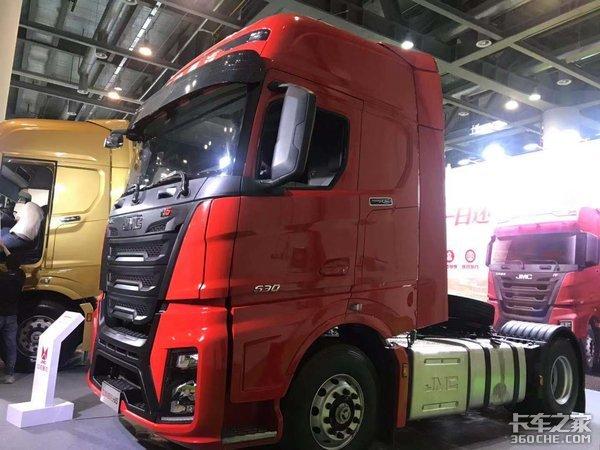 江铃威龙HV5国六版闪耀亮相第十九届中国国际运输与物流博览会