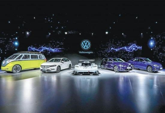 大众:到2035年在华销售的汽车将有一半是新能源汽车