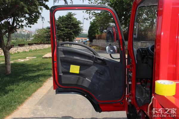 就像开小轿车一样试驾解放虎VR轻卡
