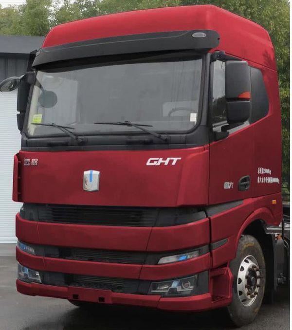 吉利打造的重卡车现身搭载潍柴发动机