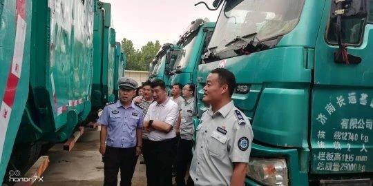 济南长清区率先完成渣土车规范管理复核工作