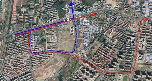 出行提醒宁杭公路西段辅道封闭绕行两年