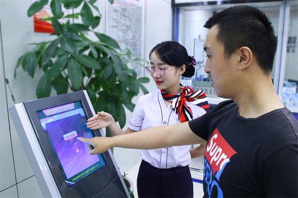 """利民:安徽高速ETC""""一站式""""免�M安�b"""
