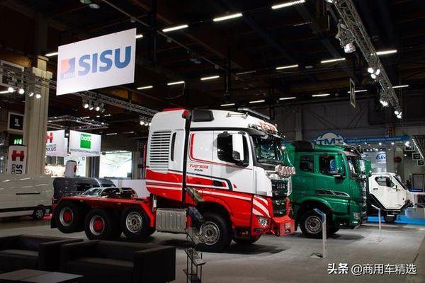 完爆瑞典双雄芬兰SISU正在研发混合动力重卡