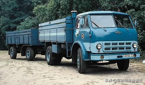 盘点上个世纪为中国经济建设做出巨大贡献的进口自前苏联的卡车