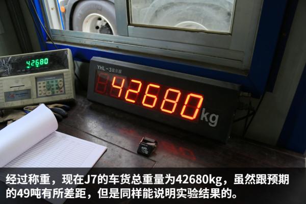 解放J7�重42���x停你猜需要多少米?