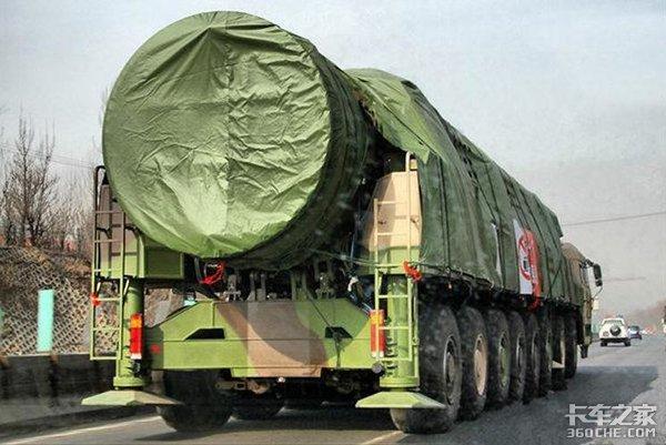16x16驱动,见识一下东风41导弹发射车