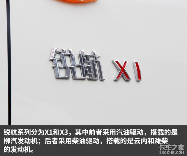 厢长3米92能装13.4方国六b锐航X1图解