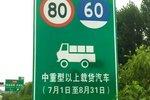 限速80公里每小时 河北调整货车限速值