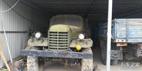 中国第一款6x6军用卡车,战功显赫