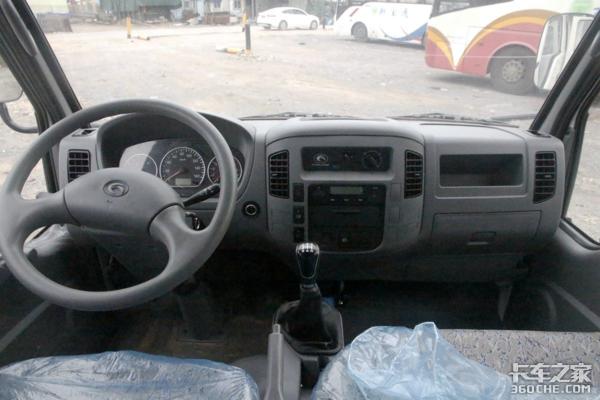 货厢容积提升+采用全新车标国六时代小卡之星Q2更实用了