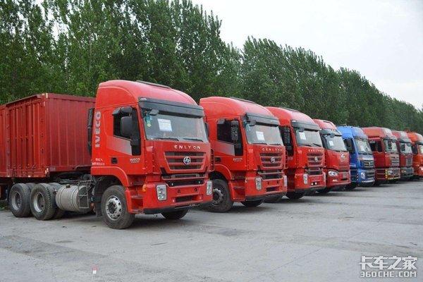 全国首单二手商用车出口由天津发往尼日利亚