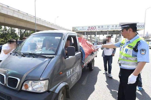 北京:专项整治货运车辆的交通违法行为