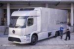 外型很科幻 奔驰Urban e-Truck概念卡车