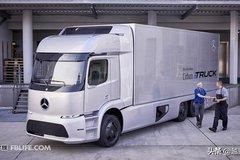 造型很科幻 奔�YUrban e-Truck概念卡�