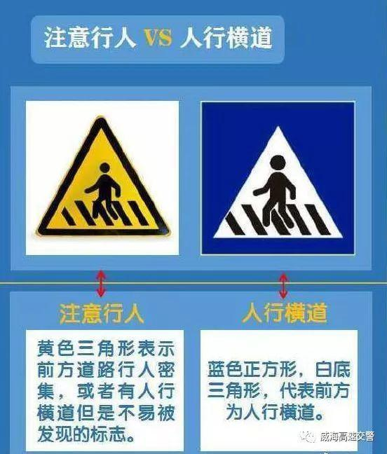 你肯定有不认识的这些交通标志都要知道