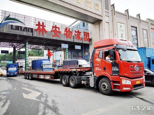 走访广州林安物流园司机之家并无新增功能卡友反馈一般