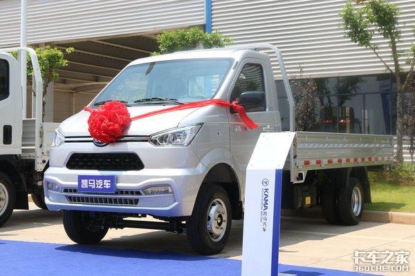 凯马赣州工厂真给力,首台新微卡配两款国六汽油机,还有新能源