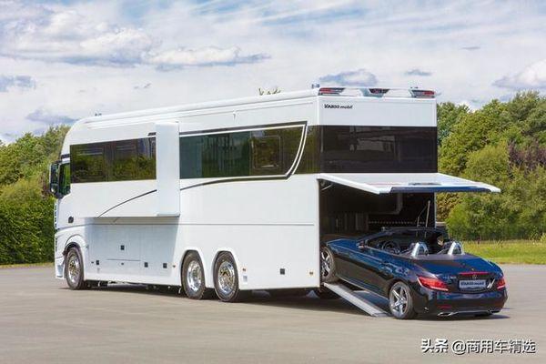 移动大豪宅还能带跑车德国VarioMobil推出全新奔驰豪华大型房车