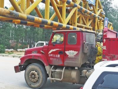 为过开封黄河大桥限高杆卡车削头剃脚