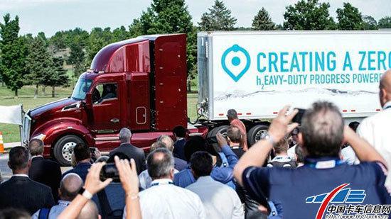 续航里程超483公里丰田发布第二代燃料电池卡车