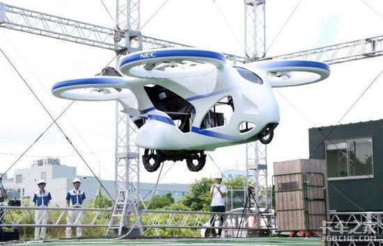 2023年实现物流运输日本研发飞行汽车