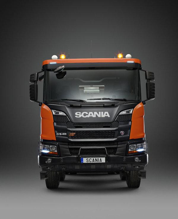 斯堪尼亚研发13升540发动机将全系搭载
