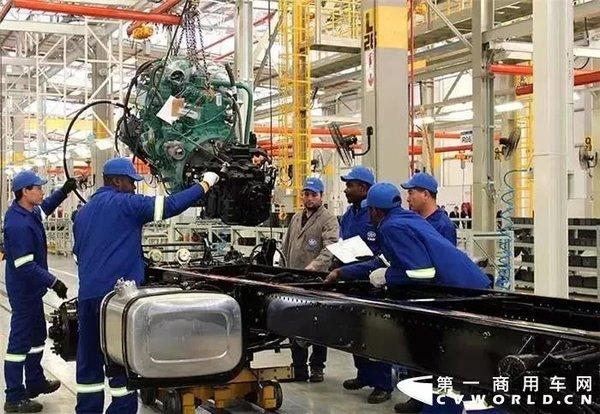 里程碑!解放海外工厂第5000辆卡车下线