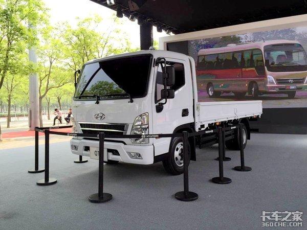 这两台小卡车竟然敲开了韩国车市的大门