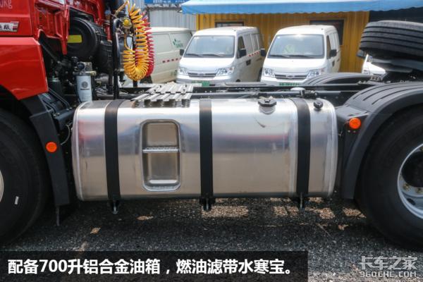 解放JH6国六新车:400马力自重不足8吨