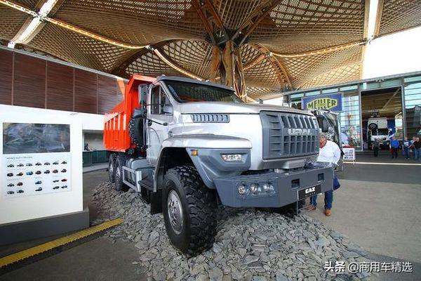 售价换算成人民币30万出头新时代的俄罗斯卡车乌拉尔Next6x6
