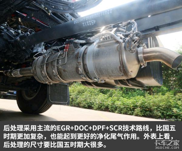 六万公里长换油发动机国六乘龙M3实拍