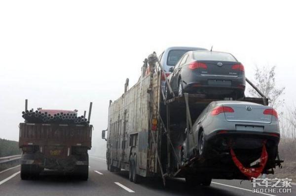 三部门打击违规装载,轿运车:我太难了