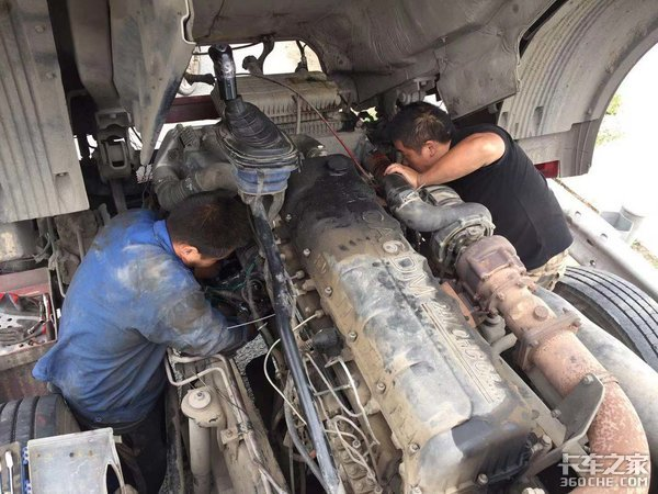 卡车使用几年后这4个地方最容易漏油,卡友们平时要多留意