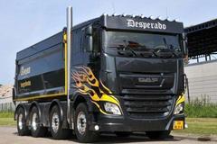 欧洲最铁血卡车改装 渣土车成炫酷神器