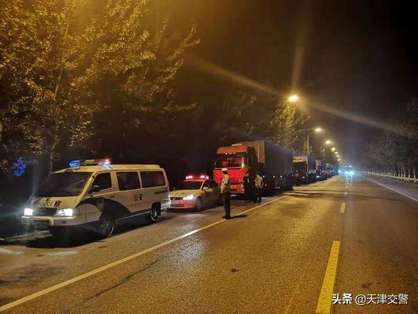 天津交警:高速公路货车超限超载违法环比减少治理出成效