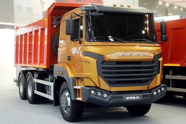 俄罗斯风格来袭乌拉尔推出全新自卸车