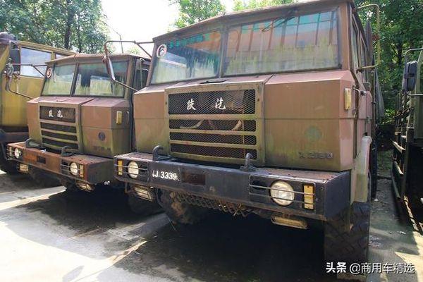 陕汽SX2150:国产军车中的传奇车型6x6重型越野车