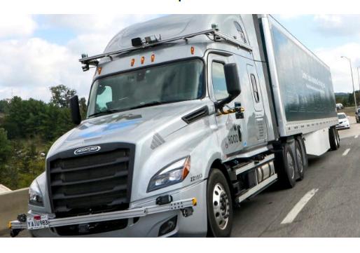 戴姆勒:现已开始测试L4自动驾驶卡车!